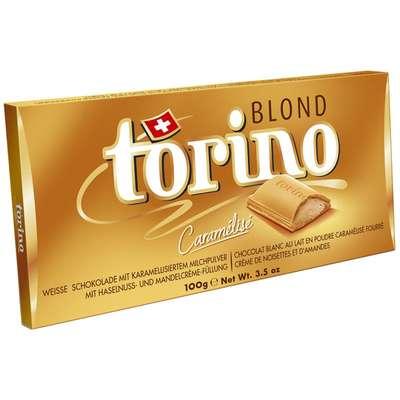 Белый шоколад с трюфельной начинкой Torino Blond 100 гр, фото 1