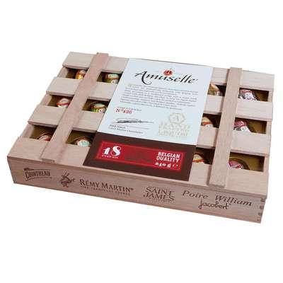 Шоколадные конфеты Бочонки ликерные Carre 240 гр, фото 1