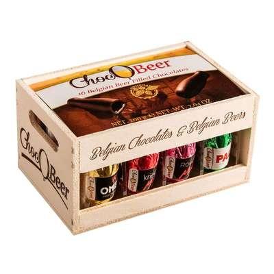 Ликерные конфеты Бутылочки пивные Carre 200 гр, фото 1