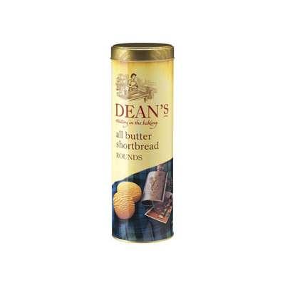 Печенье сливочное в жестяной банке All butter Shortbread Half Rounds Dean's 200 гр, фото 1