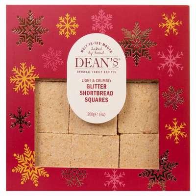 Сливочное печенье Shortbread Squares Dean's 200 гр, фото 1