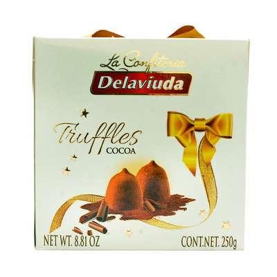 Трюфели с какао Delaviuda 250 гр, фото 3