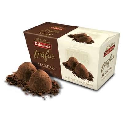 Трюфели с какао Delaviuda 200 гр, фото 2