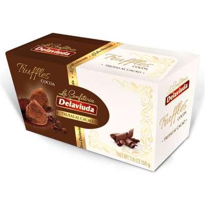 Трюфели с какао Delaviuda 200 гр, фото 1