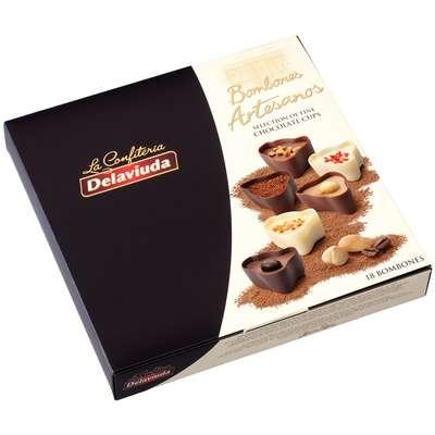 Шоколадные конфеты ассорти с пралине Delaviuda 180 гр, фото 2