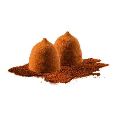 Трюфели какао со вкусом кофе Delaviuda 100 гр, фото 2