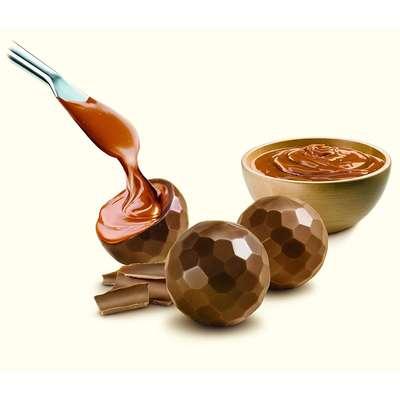 Шоколадные конфеты из молочного шоколада с карамелью Delaviuda 150 гр, фото 3