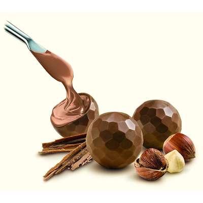 Шоколадные конфеты из молочного шоколада с фундуком Delaviuda 150 гр, фото 3