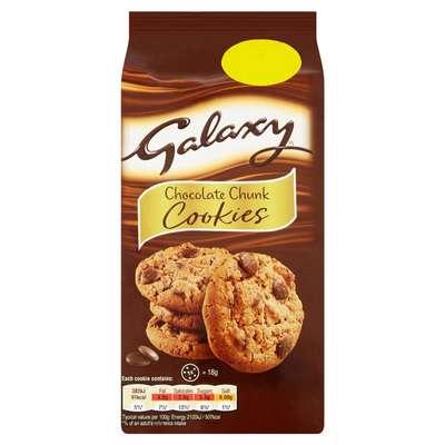 Шоколадное печенье Chocolate Chunk Cookies Galaxy 180 гр, фото 1