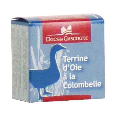 Паштет гусиный с добавлением вина Коломбель Ducs de Gascognе 65 гр, фото 1