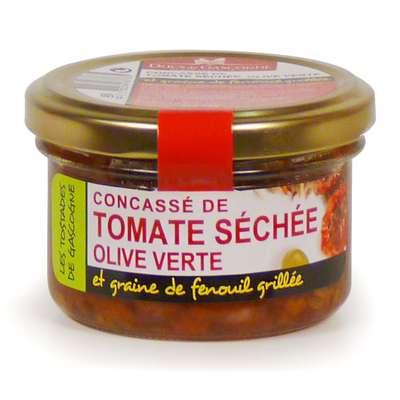 Конкассе из сушеных томатов с добавлением оливок и фенхеля Ducs de Gascognе 90 гр, фото 1