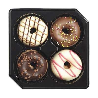 Коробка конфет ассорти Модница Желтая Donut Fashionista Chocolaterie ICKX 225 гр, фото 2