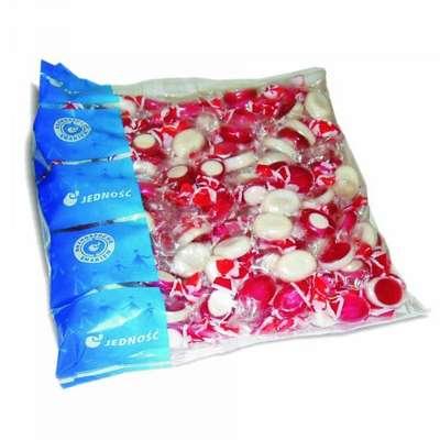 Леденцовая карамель с миндально-вишневым вкусом Фруктовый микс Jednosc 1 кг, фото 1