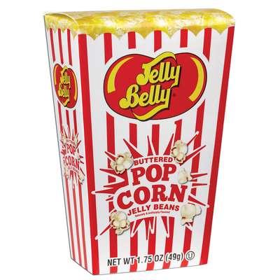 Коробочка конфет попкорн в масле Jelly Belly Buttered Popcorn 49 гр, фото 1
