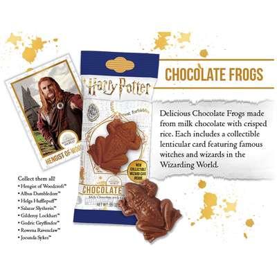 Шоколадная лягушка Гарри Поттера Jelly Belly 15 гр, фото 4