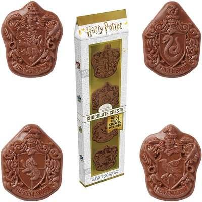 Шоколад фигурный Эмблемы факультетов Хогвартса Harry Potter Jelly Belly 28 гр, фото 1