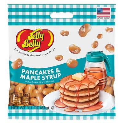 Конфеты вкус блины с кленовым сиропом Jelly Belly Pancakes & Maple Syrup 80 гр, фото 1