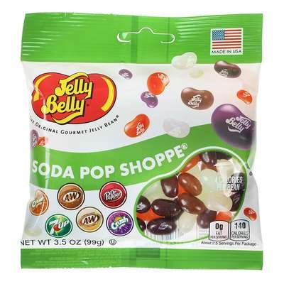 Бобы со вкусами популярных напитков Jelly Belly Soda Pop 99 гр, фото 1