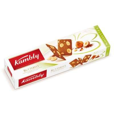 Печенье Buttеrfly с фундуком Kambly 100 гр, фото 1