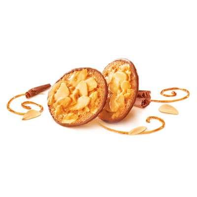 Печенье Florentin с миндалем в карамели с шоколадом Kambly 100 гр, фото 2