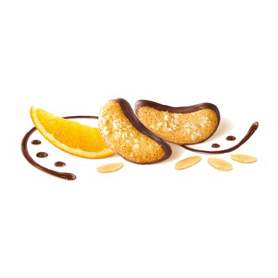 Печенье миндальное с апельсиновым кремом и шоколадом Orange Intense Kambly 100 гр, фото 2
