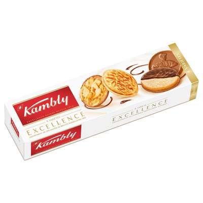 Печенье ассорти 4 вида Exellence Kambly 100 гр, фото 1