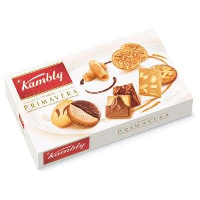 Печенье ассорти Primavera Kambly 8 видов 175 гр, фото 1