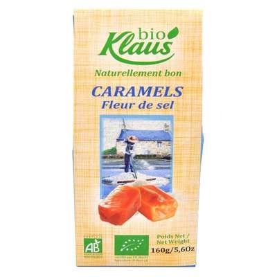 Карамель с соленым маслом Био Klaus 160 гр, фото 1