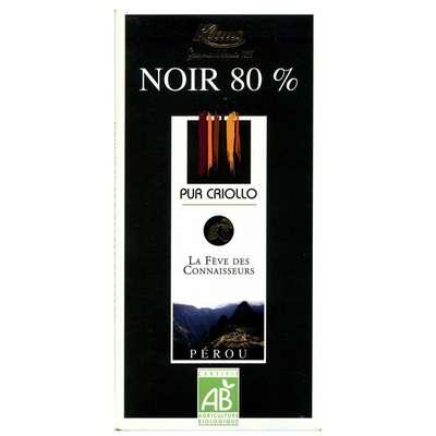 Шоколад горький 80% какао из Перу Klaus 100 гр, фото 1