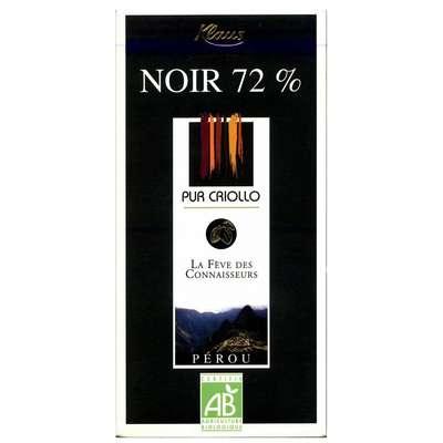 Шоколад горький 72% какао из Перу Klaus 100 гр, фото 1
