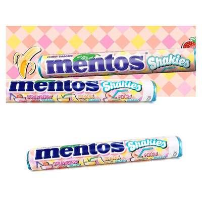 Жевательные конфеты Молочные коктейли Mentos Shakies 38 гр, фото 4