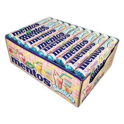 Жевательные конфеты Молочные коктейли Mentos Shakies 38 гр, фото 5