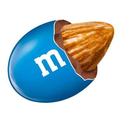 Большая пачка драже с миндалем M&M's Almond 80 гр, фото 2