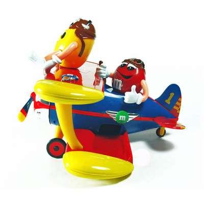 Игрушка диспенсер Аэроплан M&M's Peanut Airplane 45 гр, фото 3