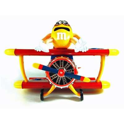 Игрушка диспенсер Аэроплан M&M's Peanut Airplane 45 гр, фото 4