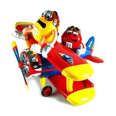 Игрушка диспенсер Аэроплан M&M's Peanut Airplane 45 гр, фото 2