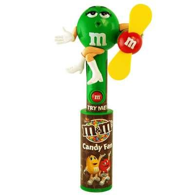 Игрушка светящийся вентилятор и драже Candy Fan M&M's, фото 5