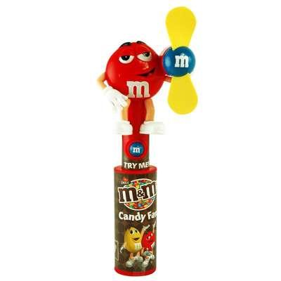 Игрушка светящийся вентилятор и драже Candy Fan M&M's, фото 6