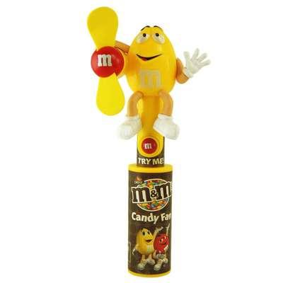 Игрушка светящийся вентилятор и драже Candy Fan M&M's, фото 7