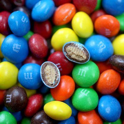 Драже шоколад и арахисовое масло в глазури M&M'S Peanut Butter 85 гр, фото 4