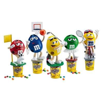 Диспенсер спортсмены M&M's Peanut Dispenser и конфеты 125 гр, фото 11