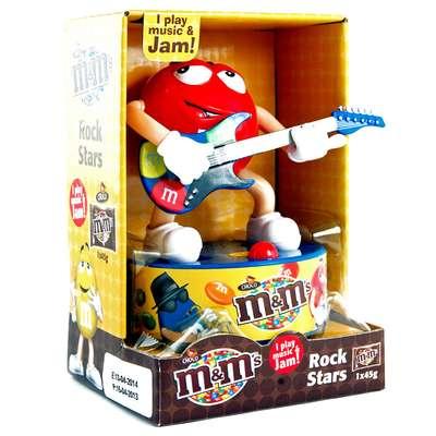 Игрушка рок-звезда и конфеты M&M's Rock Star 45 гр, фото 2