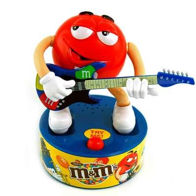 Игрушка рок-звезда и конфеты M&M's Rock Star 45 гр, фото 1