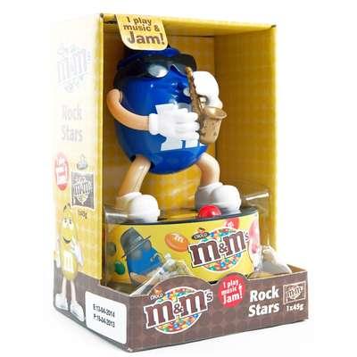 Игрушка рок-звезда и конфеты M&M's Rock Star 45 гр, фото 4