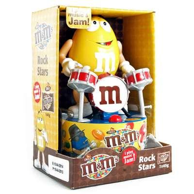 Игрушка рок-звезда и конфеты M&M's Rock Star 45 гр, фото 7