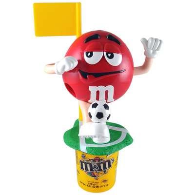 Диспенсер спортсмены M&M's Peanut Dispenser и конфеты 125 гр, фото 1