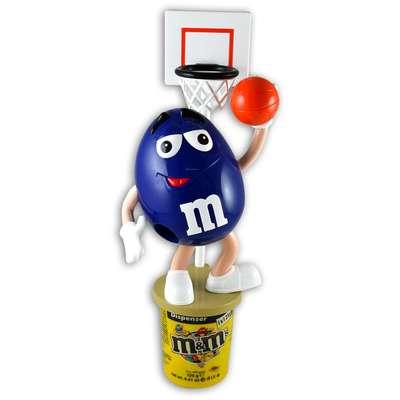 Диспенсер спортсмены M&M's Peanut Dispenser и конфеты 125 гр, фото 2