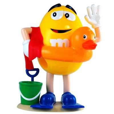 Диспенсер спортсмены M&M's Peanut Dispenser и конфеты 125 гр, фото 5