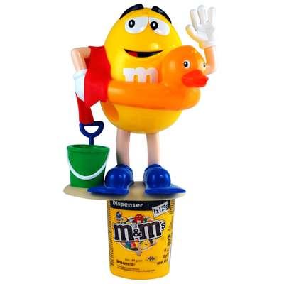 Диспенсер спортсмены M&M's Peanut Dispenser и конфеты 125 гр, фото 4