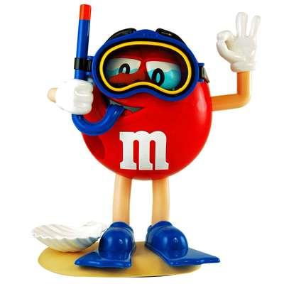 Диспенсер спортсмены M&M's Peanut Dispenser и конфеты 125 гр, фото 8